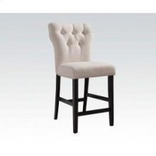 Beige Counter Height Chair