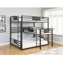 Triple Bunk Bed (q/t/q)