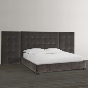MODERN-Sausalito Cal. King Upholstered Bed