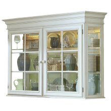 Pine Island Hutch - Old White