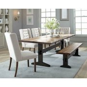 Burnham Rustic Beige Dining Chair Product Image
