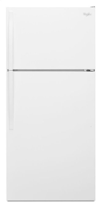 Whirlpool™ 28-inches wide Top-Freezer Refrigerator with Optional Icemaker - 14 cu. ft.