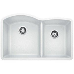 Blanco Diamond 1-3/4 Bowl - White