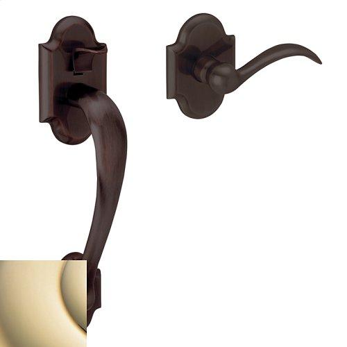 Lifetime Polished Brass Boulder 85353 Sectional