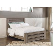 Zelen - Warm Gray 3 Piece Bed Set (Queen)