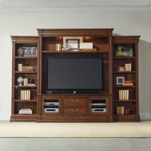 Home Entertainment Clermont Four Piece Wall Group