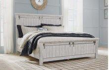Brashland - White 3 Piece Bed Set (King)