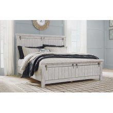 Brashland - White 3 Piece Bed Set (King)