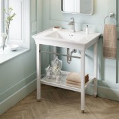 Town Square S Vanity Sink - Center Hole Only  American Standard - White
