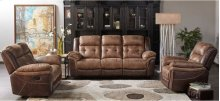 5156 Denali Reclining POWER Loveseat; no console- Brown