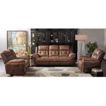 5156 Denali Recling Sofa- Brown