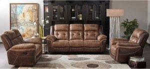 5156 Denali Recling Sofa- Brown
