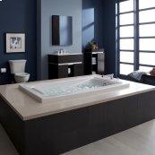 Green Tea 72x42 inch EcoSilent Combo Massage Tub  American Standard - White