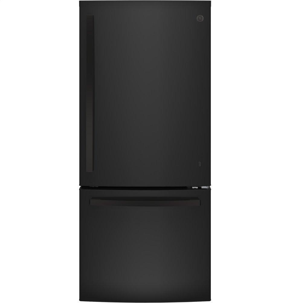 GEEnergy Star® 21.0 Cu. Ft. Bottom-Freezer Refrigerator