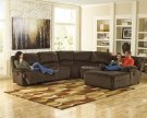 Toletta - Chocolate 5 Piece Sectional Product Image