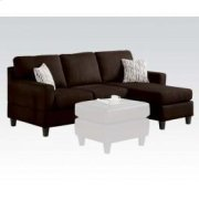 Vogue Chocolate REV.SEC.SOFA Product Image