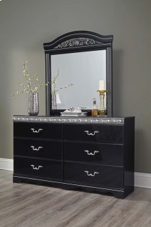 Constellations - Black 2 Piece Bedroom Set