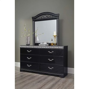 Ashley Furniture Constellations - Black 2 Piece Bedroom Set