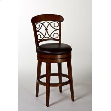 Bergamo Swivel Bar Stool