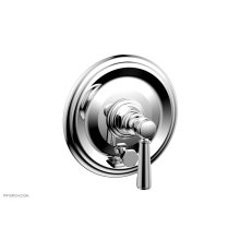 HEX TRADITIONAL Pressure Balance Shower Plate with Diverter and Handle Trim Set 4-096 - Polished Chrome