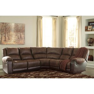Ashley Furniture Nantahala - Coffee 5 Piece Sectional