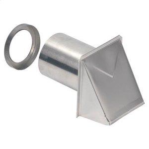 """BroanWall Cap, Aluminum, 4"""" Round Duct"""