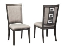 Chadoni - Gray Set Of 2 Dining Room Chairs