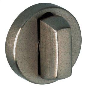 Distressed Antique Nickel 6760 Turn Piece