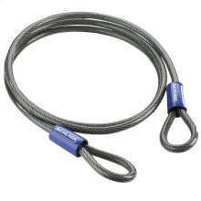 """Double Loop Cable  7' x 3/8"""" Steel Cable - No Finish"""