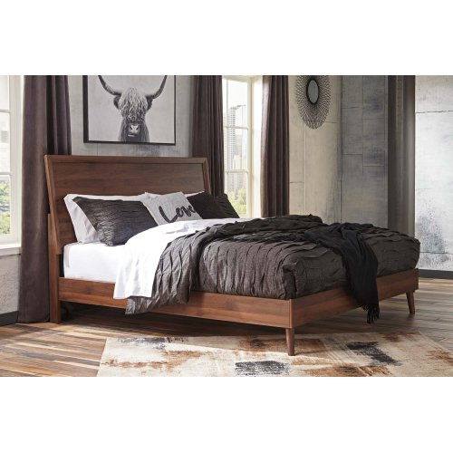 Daneston - Brown/Graphite 3 Piece Bed Set (King)