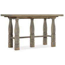 Dining Room Ciao Bella Friendship Table- Natural/Gray