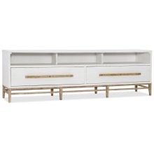 Home Entertainment Urban Elevation Low Entertainment Console