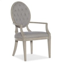 Dining Room Reverie Tufted Arm Chair