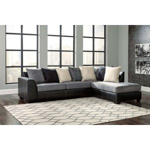 Ashley Furniture Jacurso - Charcoal 2 Piece Sectional