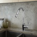 American StandardPekoe 1-Handle Pull Down High-Flow Kitchen Faucet  American Standard - Polished Chrome