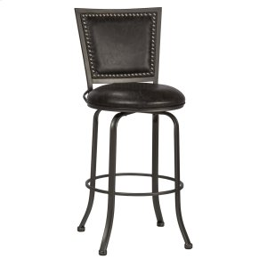 Hillsdale FurnitureBelle Grove Commercial Grade Swivel Counter Stool - Charcoal