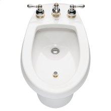 Serin 2-Handle Bidet Faucet - Brushed Nickel