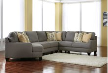 Chamberly 4 Pc RAF Sectional w/LAF Cuddler