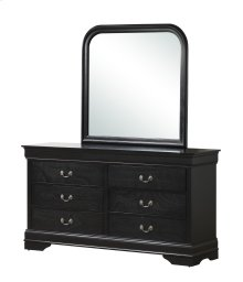 Louis Philippe Black Dresser