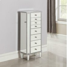 Contemporary Antique Silver Jewelry Armoire