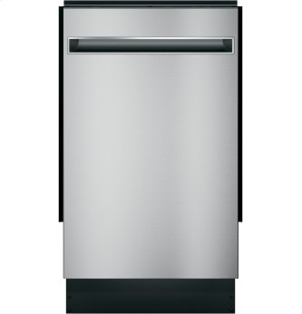 "Haier 18"" Stainless Steel Interior Dishwasher with Sanitize Cycle"