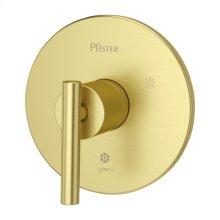 Brushed Gold 1-Handle Tub & Shower Valve Only Trim