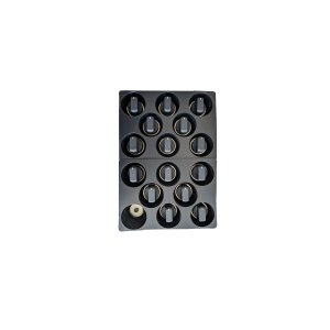 BertazzoniBlack rubber coated knob kit (15 knobs) for Master Series ranges - Gas and DF models Nero