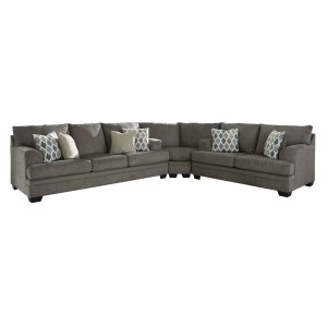 Ashley Furniture Dorsten - Slate 3 Piece Sectional