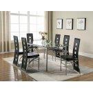 Los Feliz Contemporary Black Dining Chair Product Image