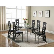 Los Feliz Contemporary Black Dining Chair