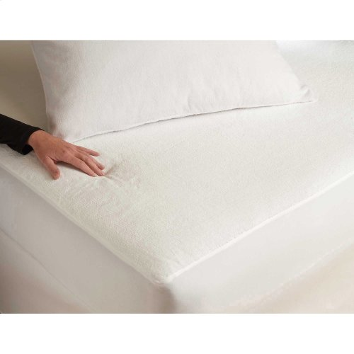 Sleep Plush Mattress Protector Bed Sheet with Ultra-Soft and Waterproof Fabric, Twin XL