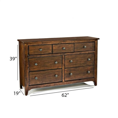 Jackson 7 Drawer Dresser