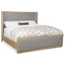 Bedroom Urban Elevation Queen Upholstered Shelter Bed