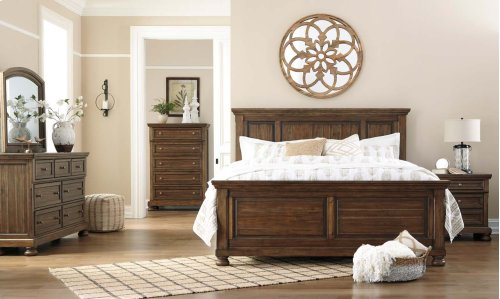 Flynnter - Medium Brown 2 Piece Bedroom Set